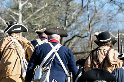 Photograph - Continental Army On The March by Steven Richman