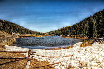 Photograph - Continental Divide by Judy Vincent