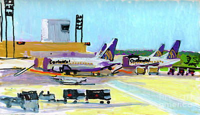 Painting - Continental In Houston by Candace Lovely