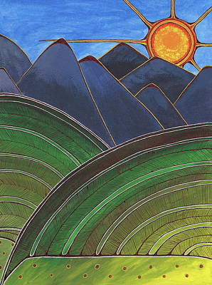 Painting - Continental Sunrise by Michele Bullock