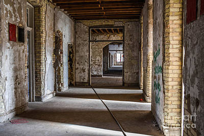Photograph - Continue Down The Hall by Grace Grogan