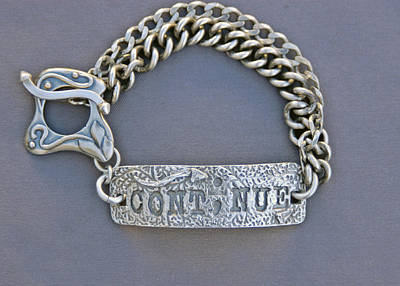 Sterling Silver Bracelet Jewelry - Continue by Mirinda Kossoff