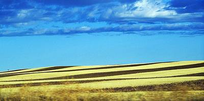 Photograph - Contours In Montana by Christian Mattison