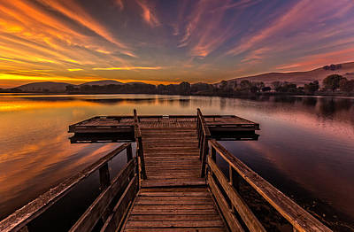 Nirvana - Contra Loma Dock Before Sunrise by Marc Crumpler