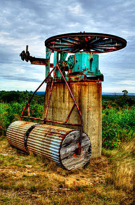 Photograph - Contraption On Mt Agamenticus by Richard Ortolano