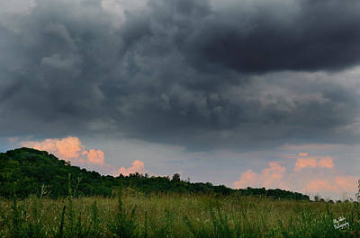 Photograph - Contrasting Clouds by Ally White