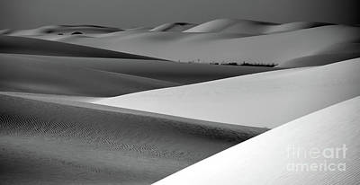 Photograph - Contrasting Sand by Brian Spencer