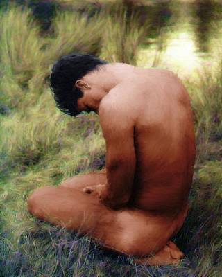 Painting - Contrition by Troy Caperton