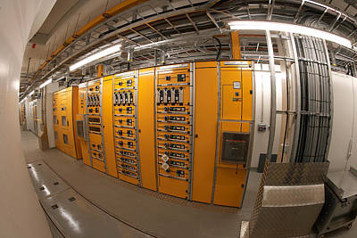 Hydro Wall Art - Photograph - Control Panels At The Fljotsdalvirkin by Panoramic Images