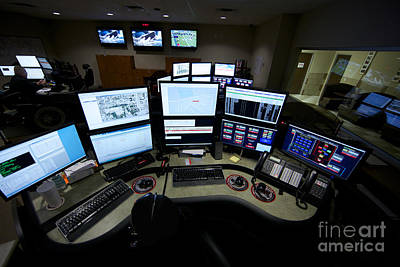 Control Center Photograph - Control Room Center For Emergency by Terry Moore