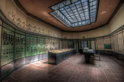 Photograph - Control Room by Nathan Wright