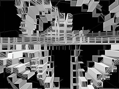 Digital Art - Conundrum 15 by Lynda Lehmann