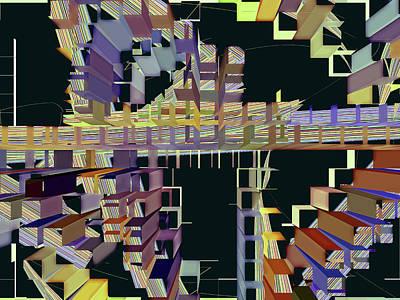 Digital Art - Conundrum 43 by Lynda Lehmann