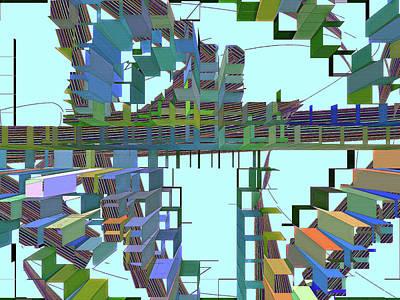Digital Art - Conundrum 59 by Lynda Lehmann