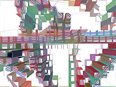 Digital Art - Conundrum 9 by Lynda Lehmann
