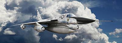 Photograph - Convair B-58 Hustler by Larry McManus