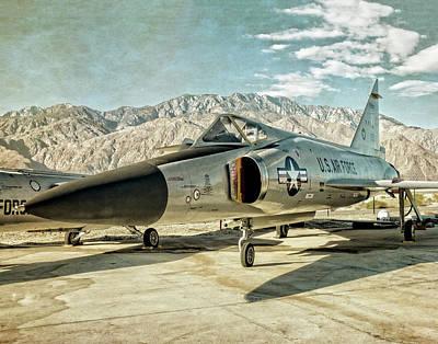 Photograph - Convair F-102 Delta Dagger by Sandra Selle Rodriguez