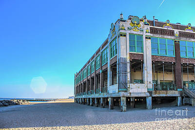 Photograph - Convention Hall Beachside - Asbury Park by Colleen Kammerer