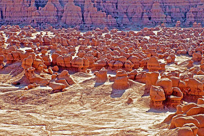 Photograph - Convention Of Goblins In Valley Of The Goblins In Goblin Valley State Park, Utah by Ruth Hager