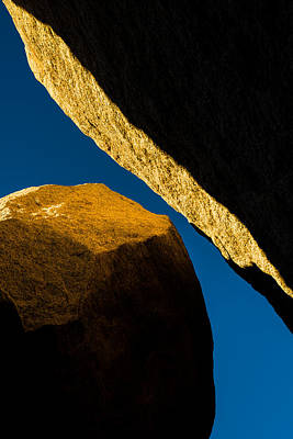 Rock Wall Photograph - Convergence by Joseph Smith