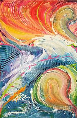 Painting - Convergence by Sandra Lett