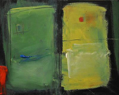 Conversation With Rothko Art Print by Tim Nyberg