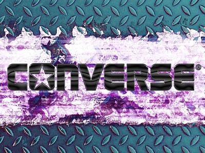 Conversing Mixed Media - Converse by Ivan Csorgo