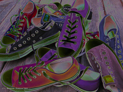 Photograph - Converse by Jennie  Richards
