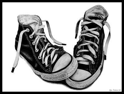 All Star Drawing - Converse by Kalie Hoodhood