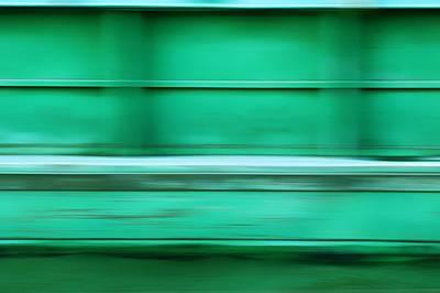 Photograph - Conveyance - River Barge - Abstract by Nikolyn McDonald