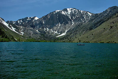 Photograph - Convict Lake 1 by Michael Gordon