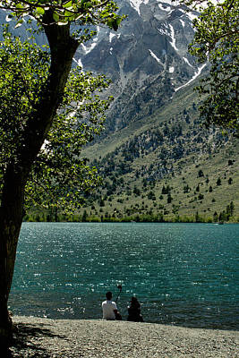 Photograph - Convict Lake 4 by Michael Gordon