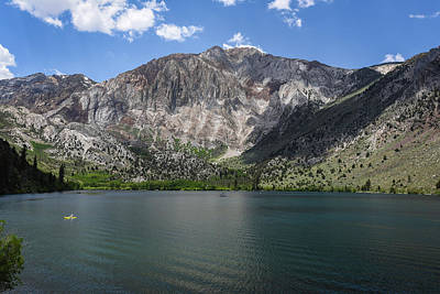 Photograph - Convict Lake Afternoon by Scott Cunningham