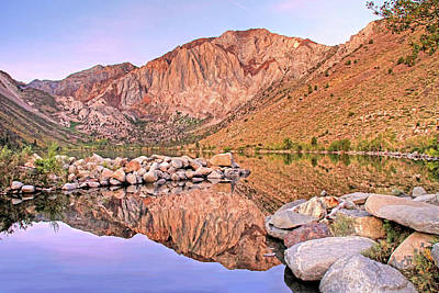 Photograph - Convict Lake by Donna Kennedy
