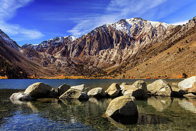 Photograph - Convict Lake by James Eddy