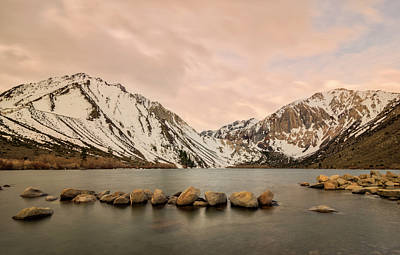 Photograph - Convict Lake by Loree Johnson