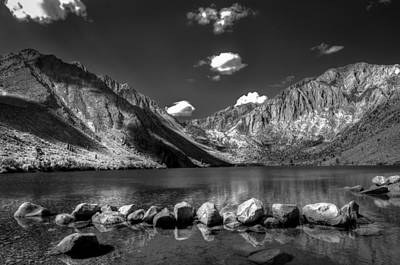 Convict Lake Near Mammoth Lakes California Art Print