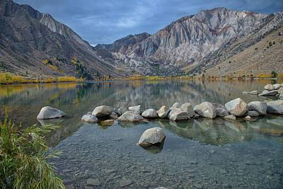Photograph - Convict Lake by Patricia Dennis