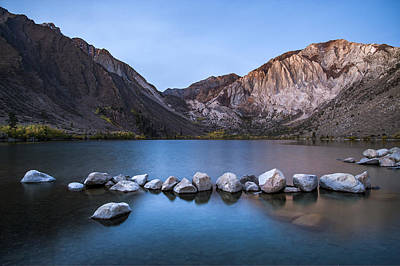 Photograph - Convict Lake Sunrise by Cat Connor