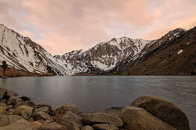 Photograph - Convict Lake Sunrise by Loree Johnson