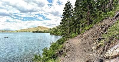 Photograph - Convict Lake Trail by Joe Lach
