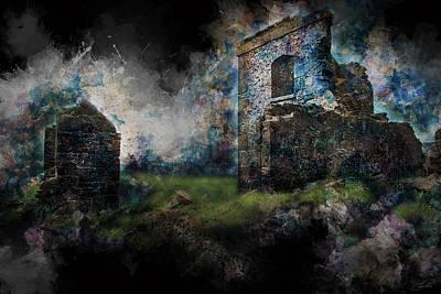 Convict Digital Art - Convict Ruins Stanley Tasmania 1 by Shaun Poole
