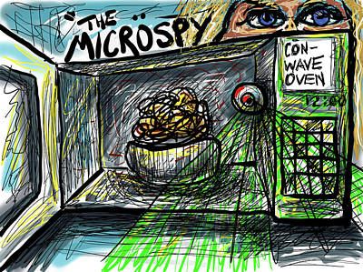 Digital Art - Conwave Oven by Joe Bloch