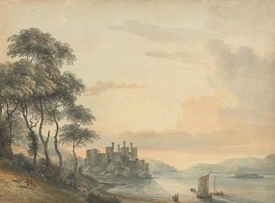 Conway Castle Art Print