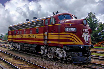 Photograph - Conway Scenic Railroad by Anthony Dezenzio