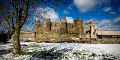 Photograph - Conwy Castle From The East by Peter OReilly