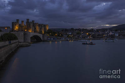Conwy Castle Print by Ian Mitchell