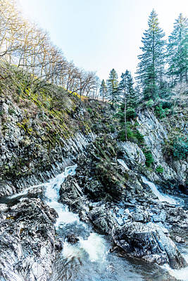 Photograph - Conwy Falls by Nick Bywater