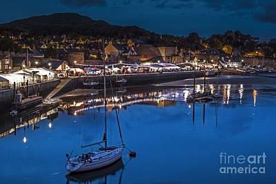 Wales Digital Art - Conwy Quay  by Chris Evans