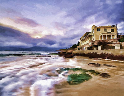 Coogee Beach Art Print by Alex Zolotar